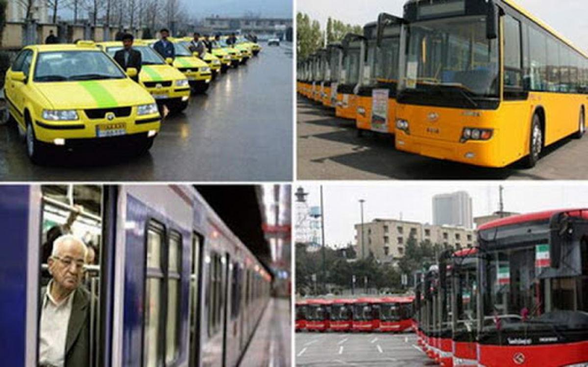 آخرین ساعت کاری حمل و نقل عمومی تهران