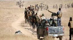 مقابله حشد الشعبی و داعش در نزدیک مرز ایران