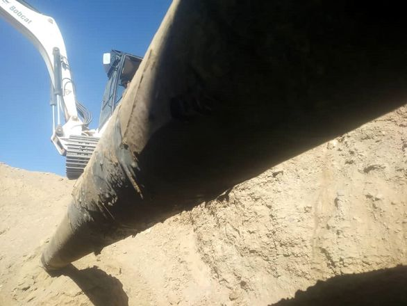 بازبینی و تعویض پوشش خط لوله 16 اینچ فرآوردههای نفتی مسیر یزد – نائین