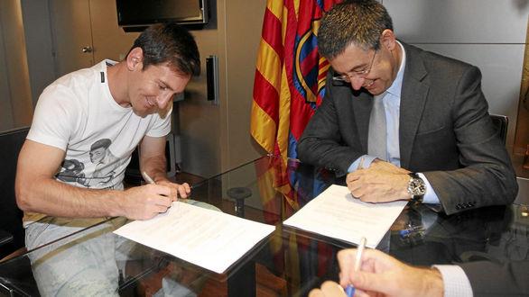 بند قرارداد جنجالی مسی با بارسلونا / فوق ستاره در استانه ترک نیوکمپ