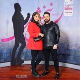 بابک جهانبخش و همسرش در کنسرتش + عکس