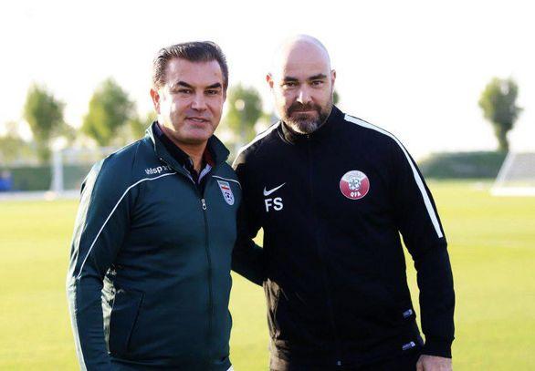 دو تیم ملی با یک مربی