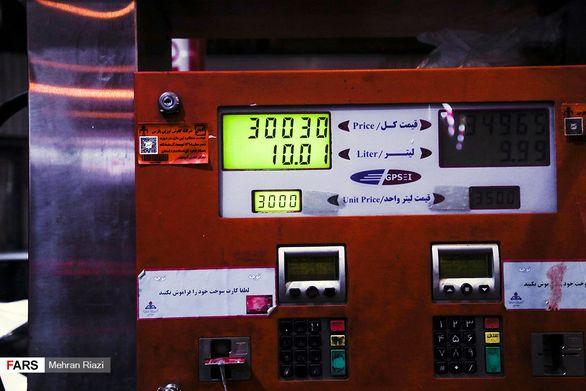 پمپبنزینهای تهران درشب «سهمیهبندی» + تصاویر