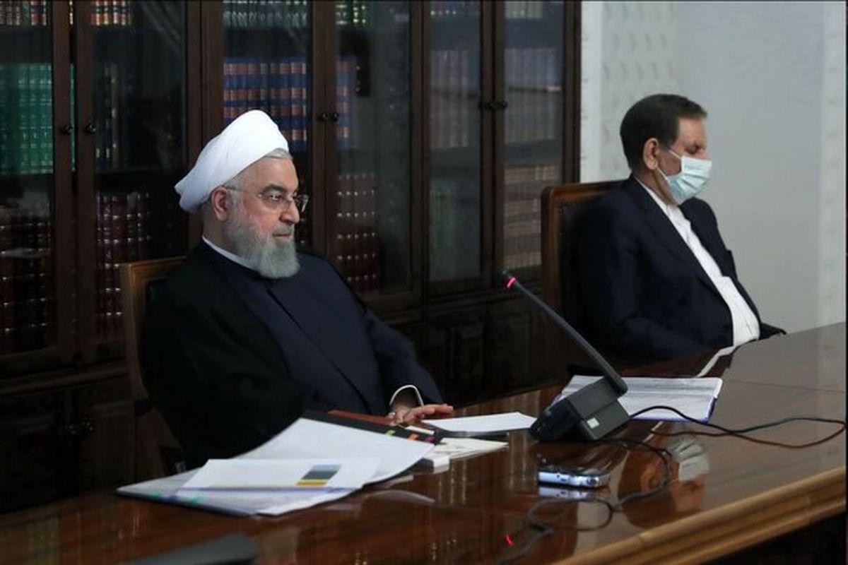صحبت های رئیس جمهور در جلسه ستاد هماهنگی اقتصادی دولت