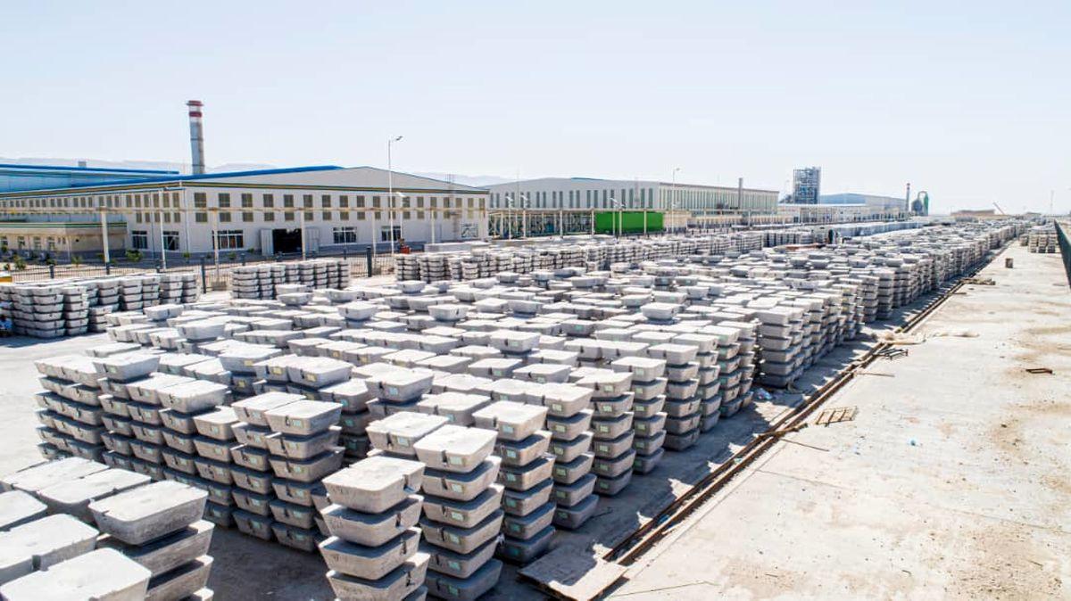 فروش 1700 تن شمش آلومینیوم بزرگترین واحد تولیدی منطقه ویژه لامرد در بورس