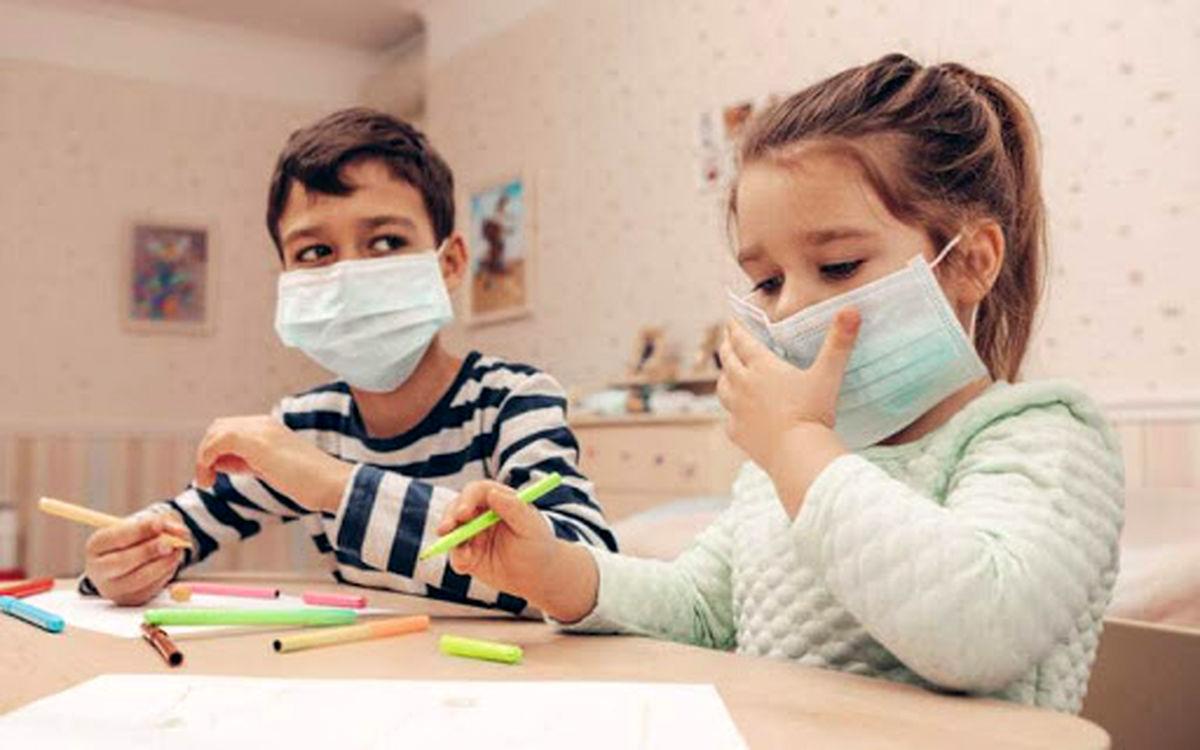 ماسک برای کودکان زیر ۲سال ممنوع است