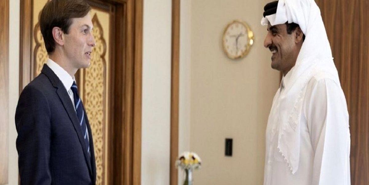 امیر قطر: مواضع این کشور در قبال فلسطین ثابت است