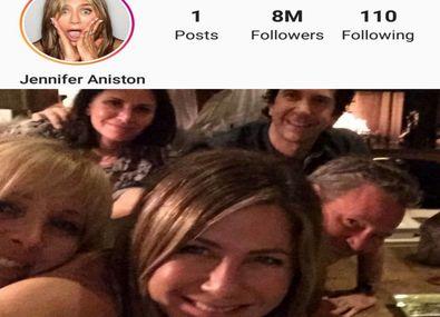 هشت میلیون فالوئر در یک روز در اینستاگرام جنیفر آنیستن + عکس