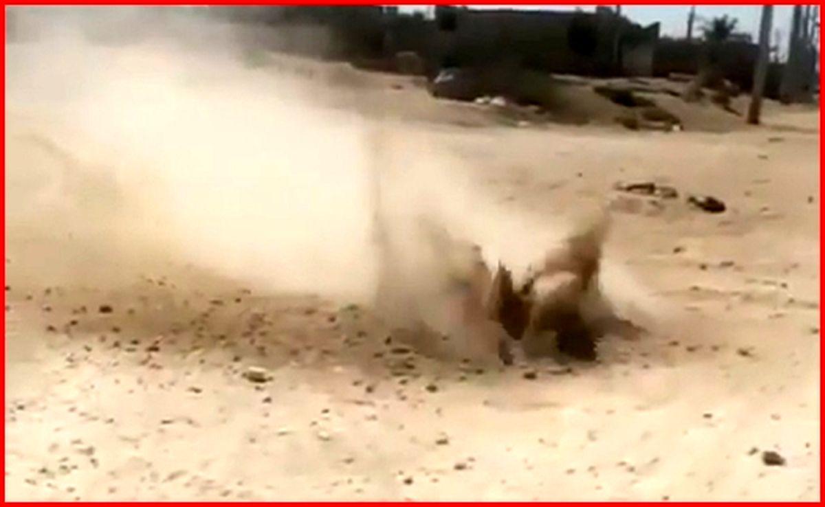 ماجرای جوشیدن خاک در بوشهر | فیلم جوشیدن خاک