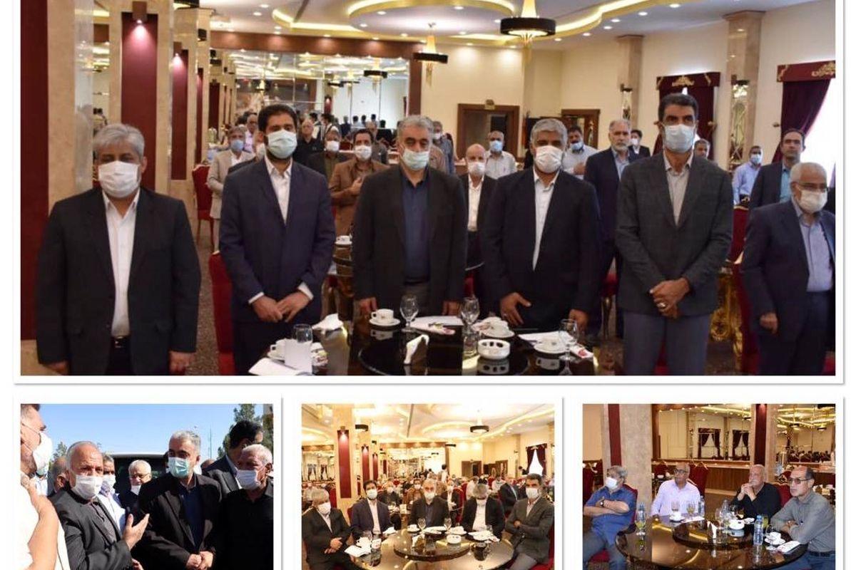 دیدار دکتر سعدمحمدی با بازنشستگان شرکت مس