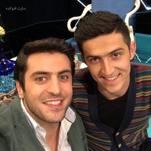 عکس علی ضییا و سردار آزمون + بیوگرافی کامل