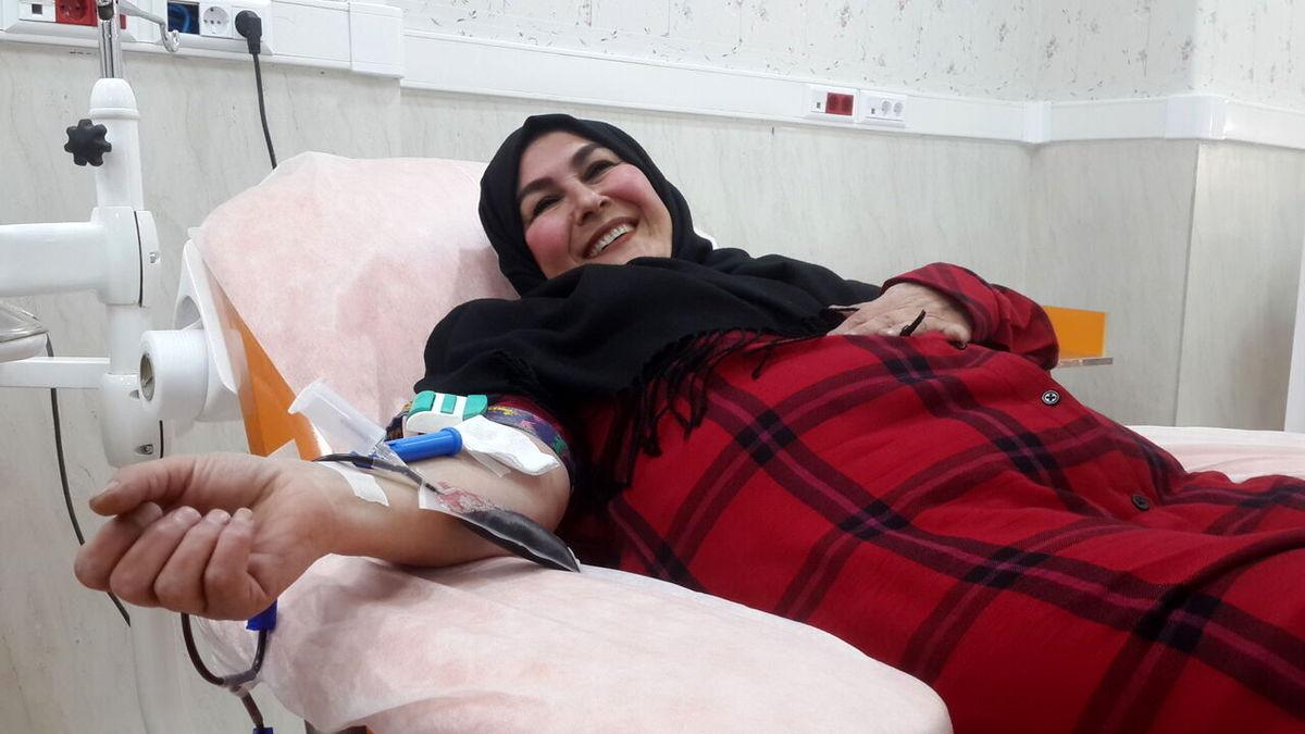 سلطان اهدای خون ایران کیست +عکس