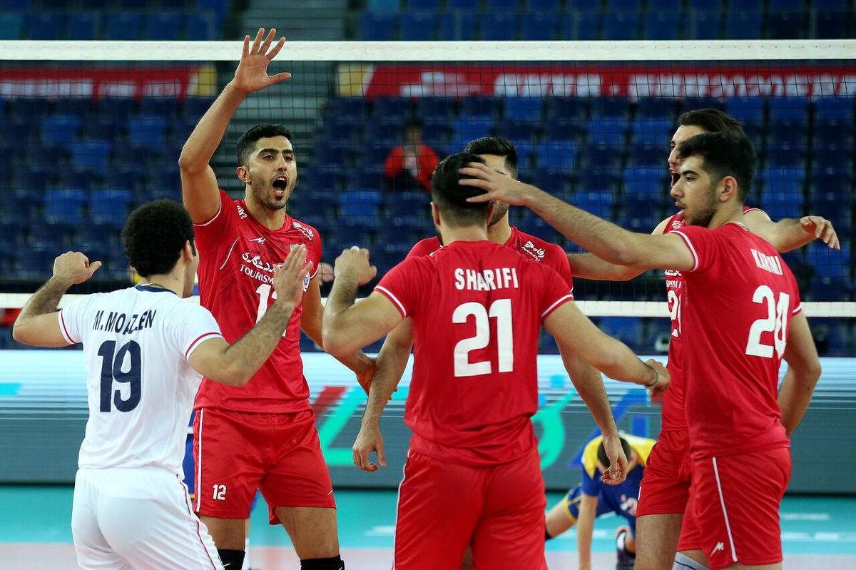 والیبال ایران به چین رسید