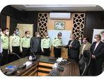 موسسه اعتباری ملل به کارکنان پلیس پیشگیری ناجا تسهیلات پرداخت می کند