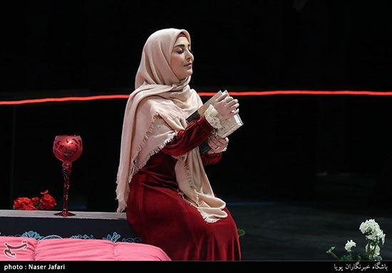 جنجال آرایش ژیلا صادقی دربرنامه زنده + عکس