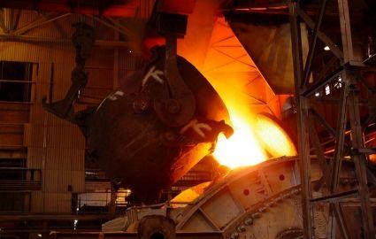 میزان رشد تولید فولاد ایران از جهان پیشی گرفت