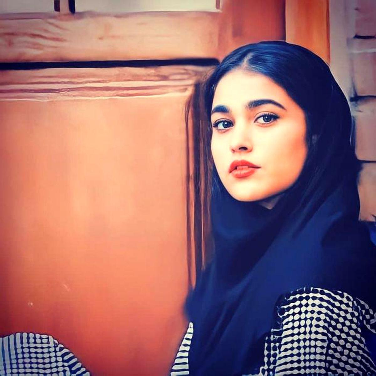 آدرینا صادقی بازیگر احضار از دخترش رونمایی کرد + عکس