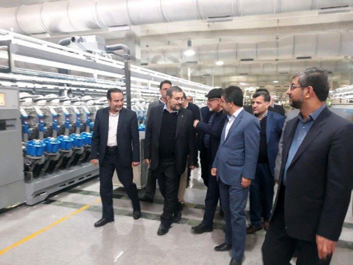 بازدید معاون وزیر صمت از واحد های صنعتی خراسان جنوبی