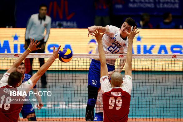 نتیجه مسابقه والیبال ایران و کانادا
