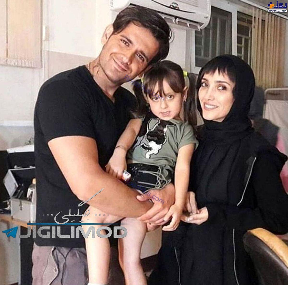 عکس جنجالی امیرحسین آرمان در کنار خانم بازیگر بیوگرافی و عکس