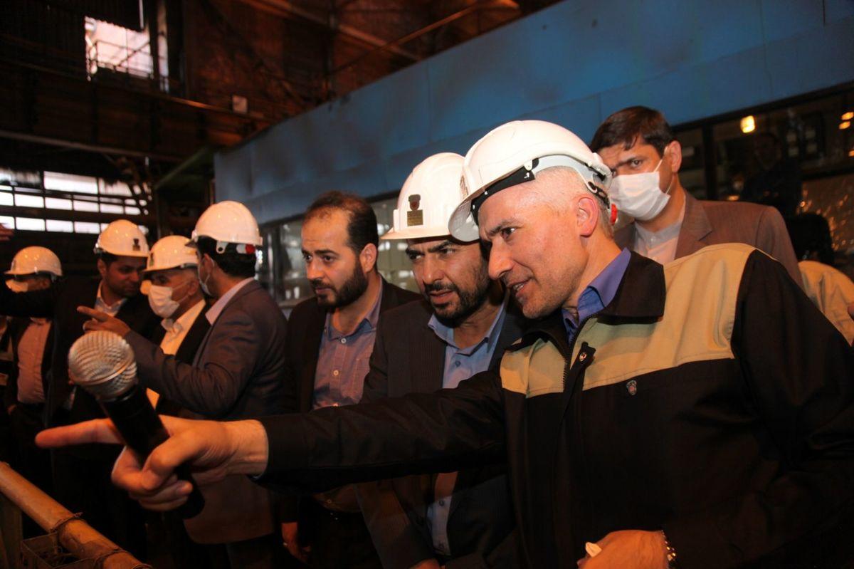 سنگ آهن مورد نیاز ذوب آهن از سه معدن اصلی کشور تامین می شود