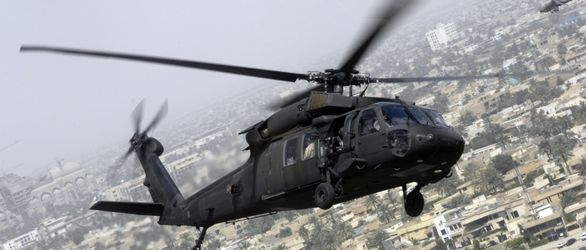 سقوط یک بالگرد نظامی آمریکا/ ۲ نفر مفقود شدند