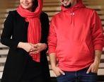 گریه زاری جواد عزتی پس از تماشای زخم کاری   عکس جواد عزتی و همسرش