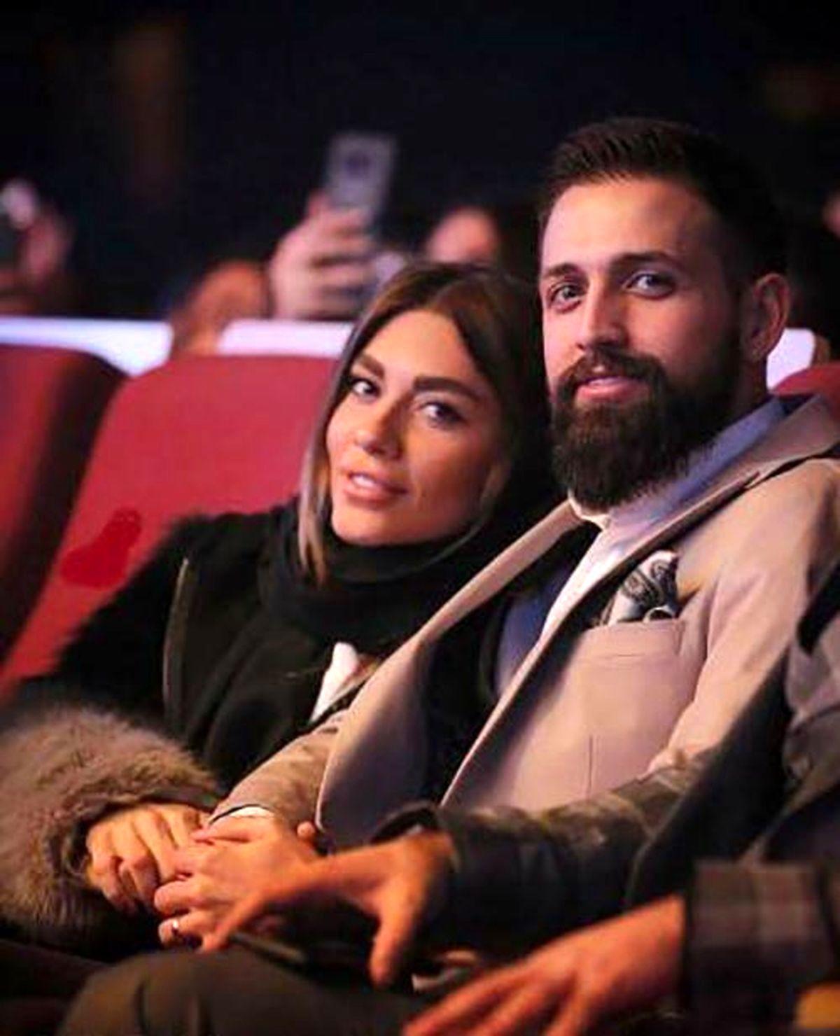 محسن افشانی اسم همسرش را تتو کرد + عکس دیده نشده