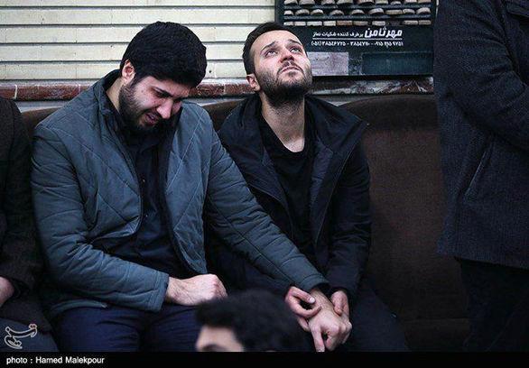 فرزند شهید سلیمانی بعد از شهادت پدر + عکس