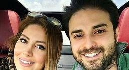 همسر دوم بابک جهانبخش از دخترش رونمایی کرد + عکس