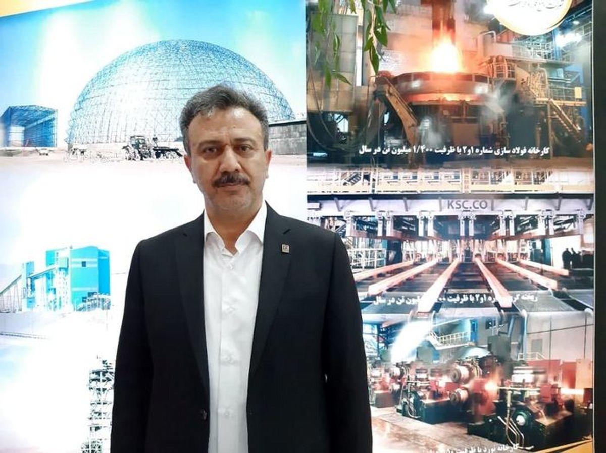 افزایش دو برابری فروش فولاد خراسان در بورس کالا