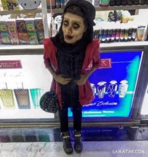 عکس های بی شرمانه سحر تبر دختر 19 ساله ایرانی