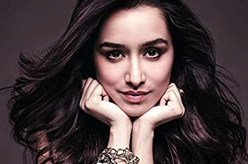 Ghantakart.com Shraddha Kapoor Paper Art Wall Poster Without Frame (12x18 Inch): Amazon.in: Home & Kitchen