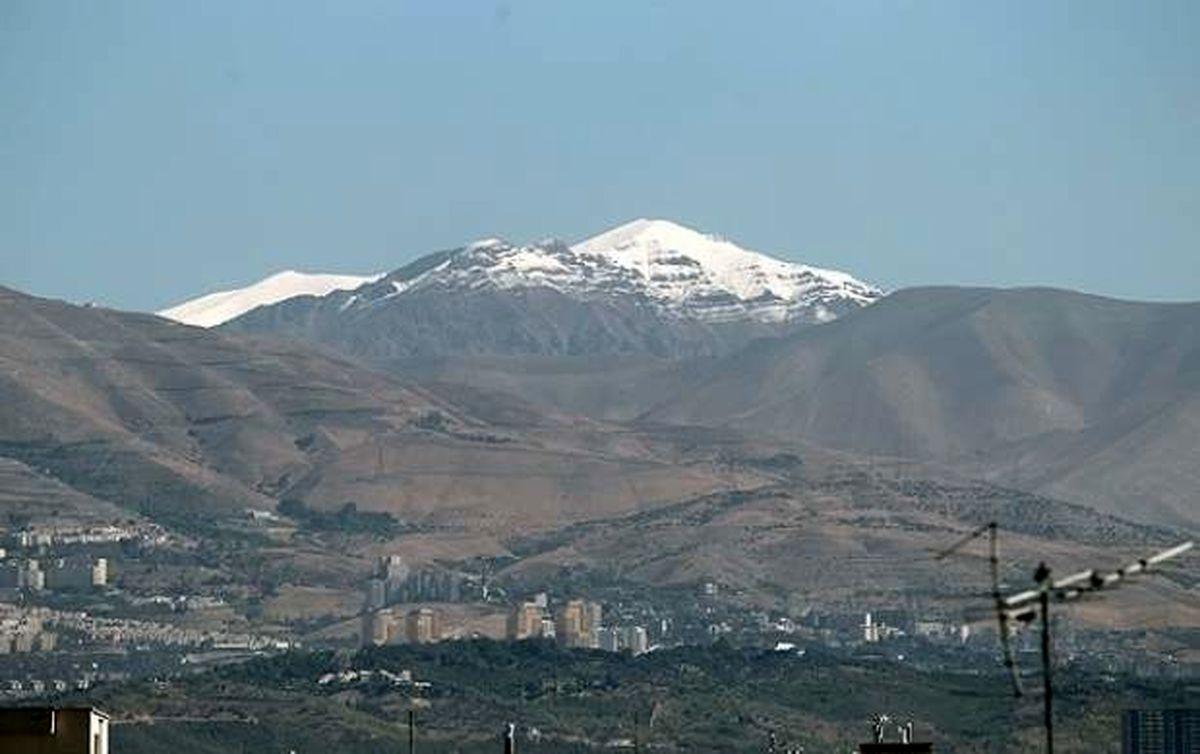 احتمال بارش برف و باران در ارتفاعات تهران