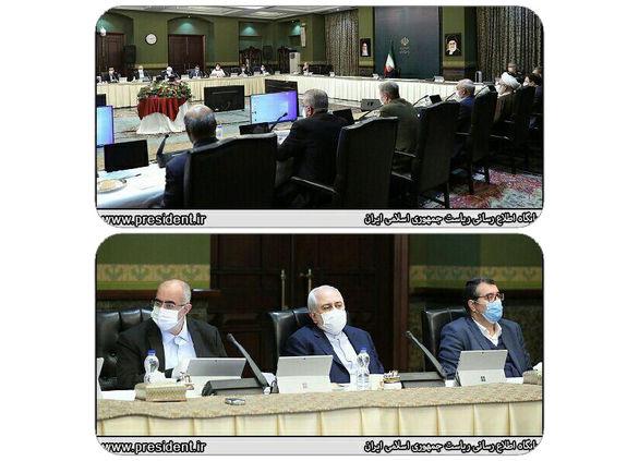 حضور وزیر صمت در جلسه ستاد ملی مقابله با کرونا