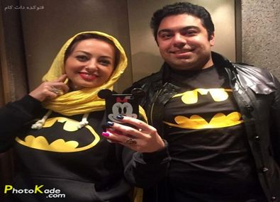 عکس جنجالی نفیسه روشن و همسرش در آسانسور  +بیوگرافی