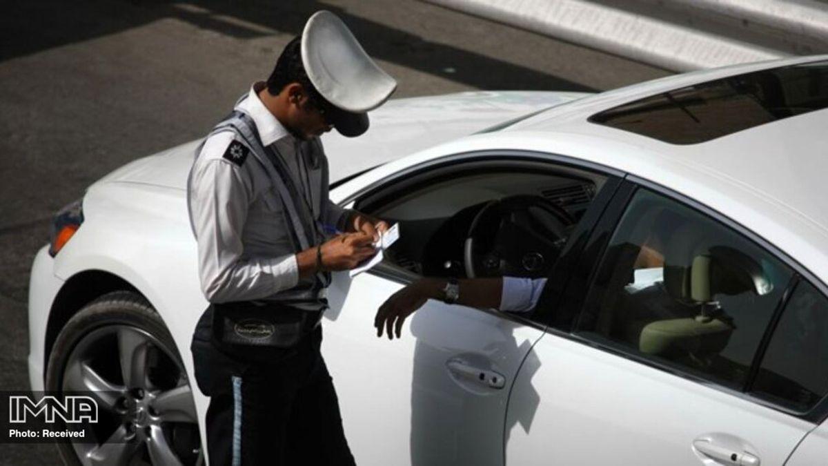 جریمه ۵۰۰هزار تومانی در انتظار رانندگان متخلف