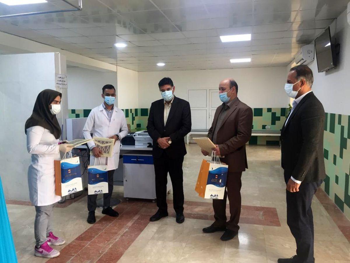 تجلیل از 105 پزشک عرصه سلامت در منطقه آزاد قشم