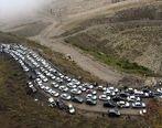 ترافیک سنگین در جاده های شمال + جزئیات