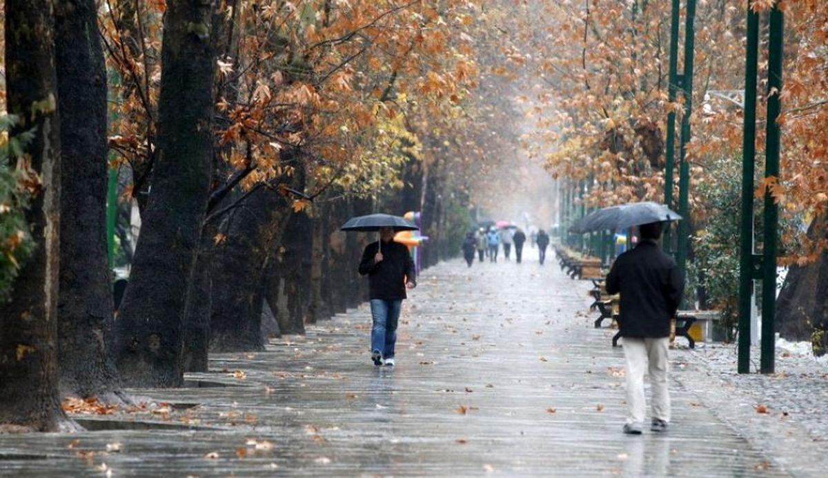 ورود سامانه بارشی جدید به کشور از جمعه + وضعیت جوی پایتخت