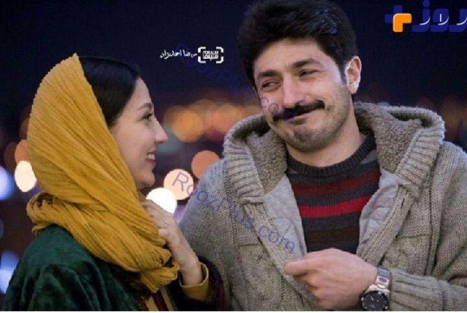 فردا - ژست تازه عروس و داماد بازیگر در جشنواره +عکس - صاحبخبر