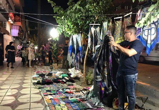 شب عید دستفروشان چطور می گذرد