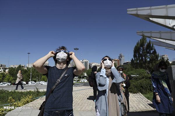رصد آخرین خورشید گرفتگی قرن در تهران