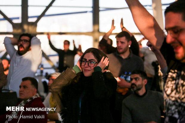 تماشای دربی ۹۲ در حاشیه جشنواره فیلم فجر