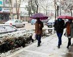برف و باران در ۲۹ استان تا دوشنبه آینده