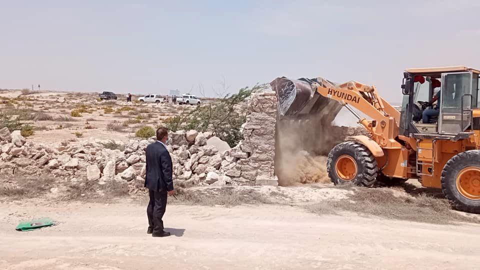 3500 مترمربع اراضی خالصه دولتی به ارزش 14 میلیارد ریال در روستای ریگو قشم رفع تصرف شد