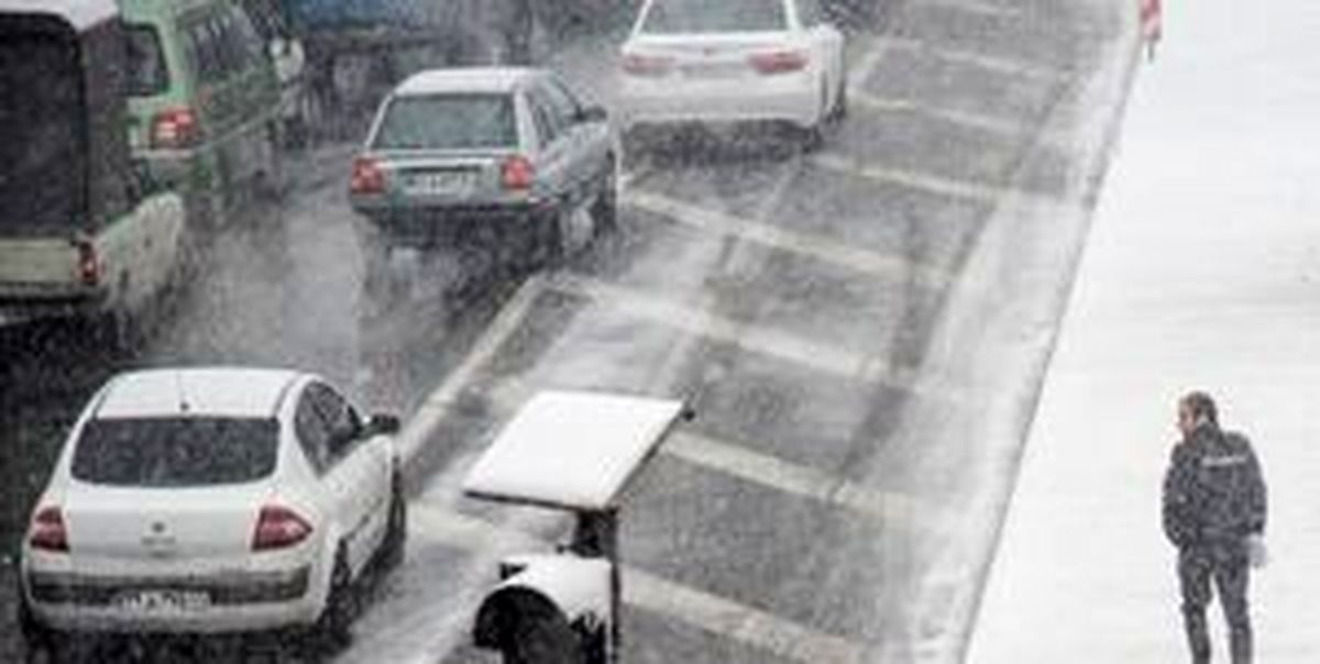 بارش برف و باران در ۶ استان