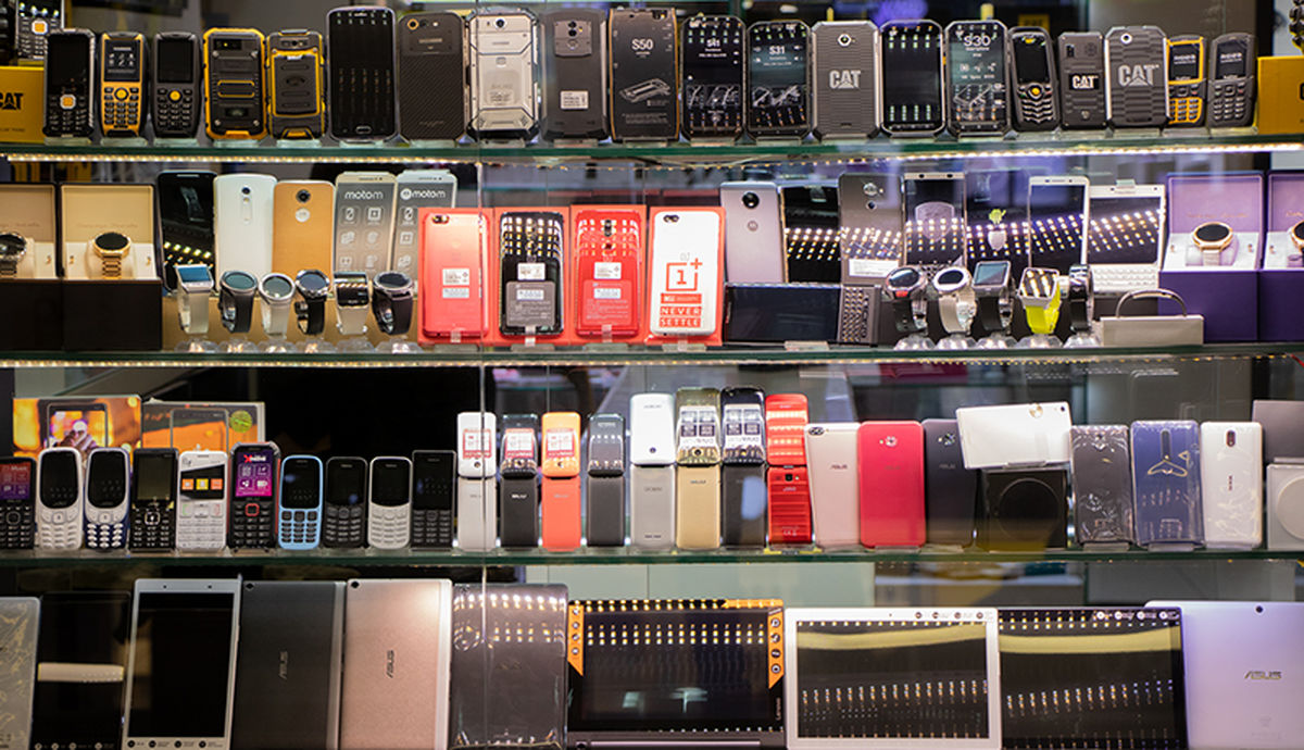 موبایل گران شد