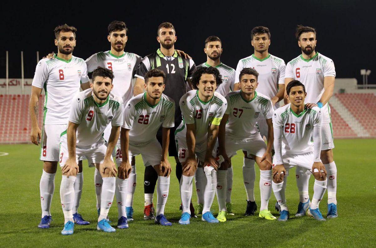 ترکیب تیم امید برابر ازبکستان مشخص شد
