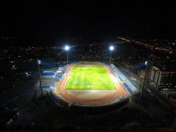 به همت شرکت گل گهر،ورزشگاه امام علی (ع) سیرجان بازسازی شد